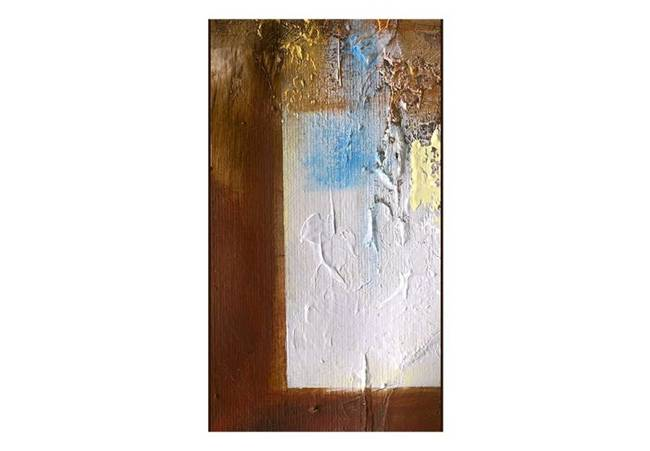 Fototapeta - Abstrakcja: Zimowy pejzaż