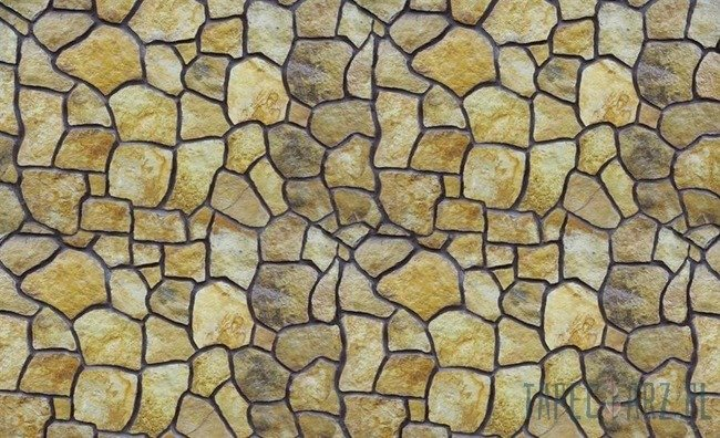 Fototapeta Beżowa kamienna mozaika 641