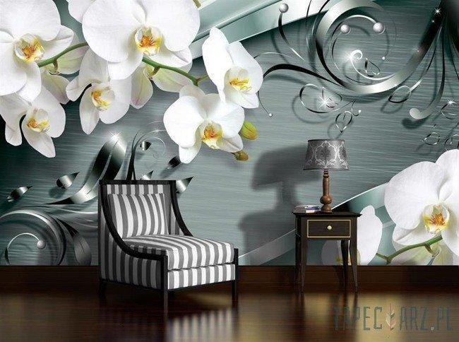 Fototapeta Białe kwiaty 2160