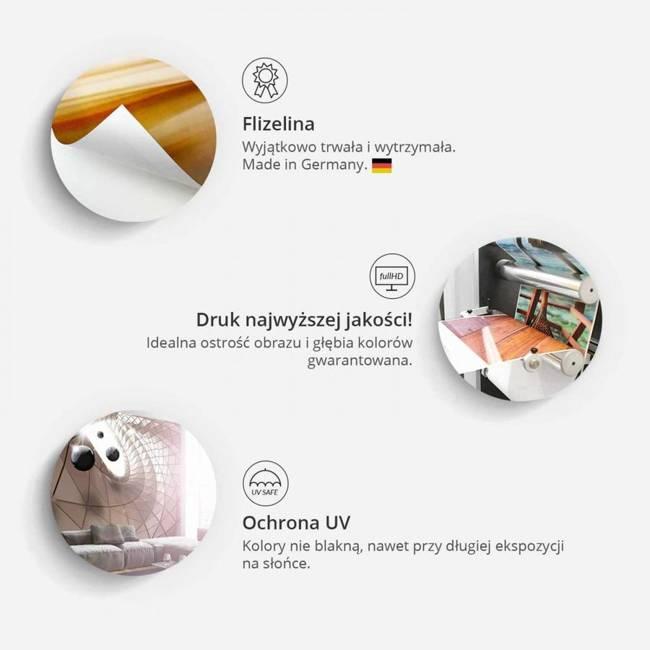 Fototapeta - Biały splot