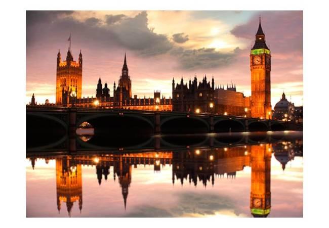 Fototapeta - Big Ben wieczorem, Londyn