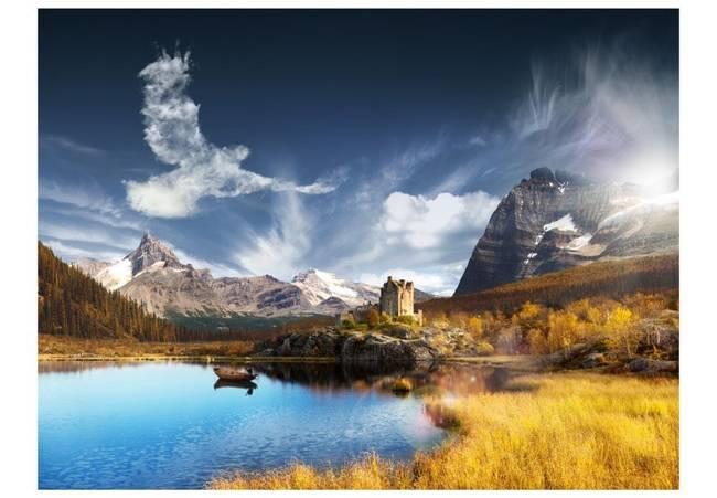 Fototapeta - Bird cloud