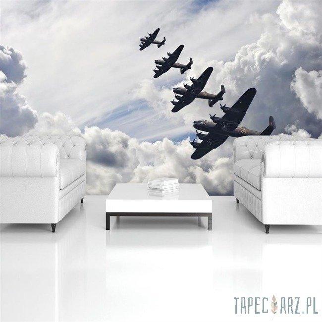 Fototapeta Bombowce na niebie 570