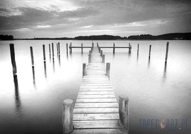 Fototapeta Czarno-biało kładka 2655