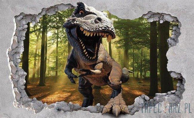Fototapeta Dinozaur w lesie 11034