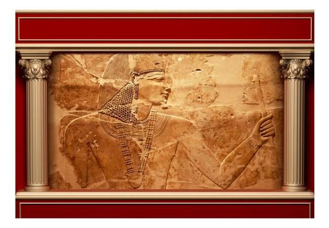 Fototapeta - Egipskie mury
