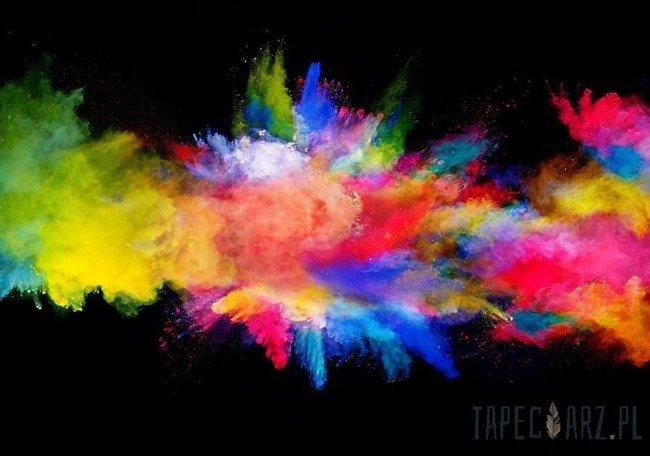 Fototapeta Eksplozja kolorowego proszku 3496