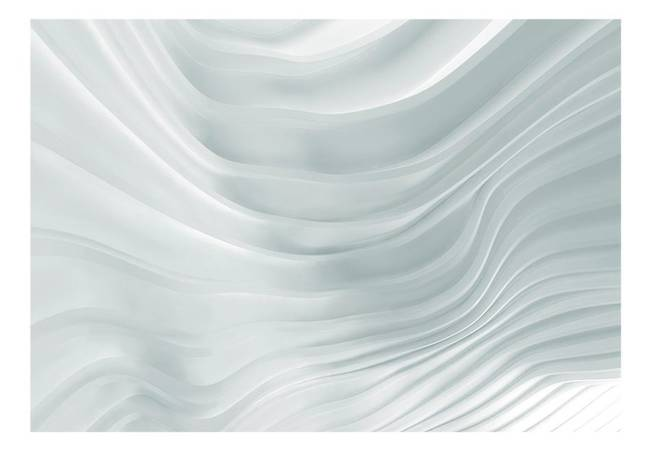Fototapeta - Falująca biel
