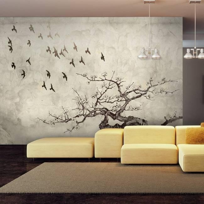 Fototapeta - Flock of birds