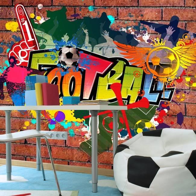 Fototapeta - Football fans!