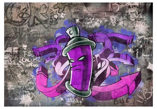 Fototapeta - Graffiti spray can