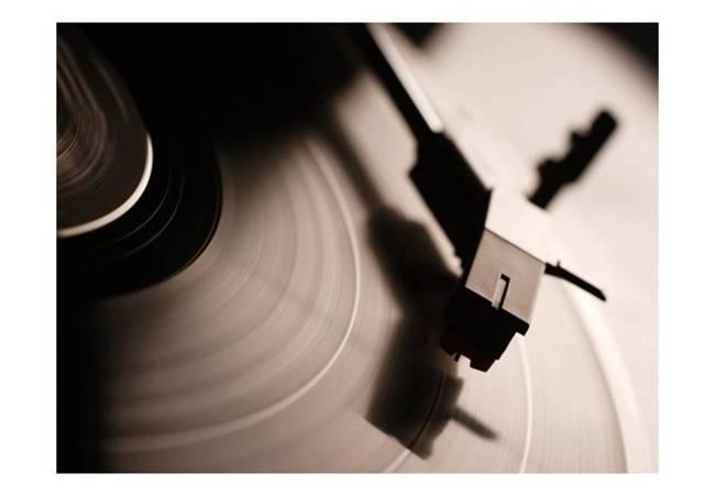 Fototapeta - Gramofon i płyta winylowa