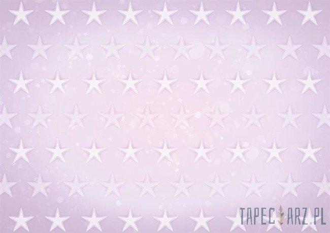 Fototapeta Gwiazdki na różowym tle 2686