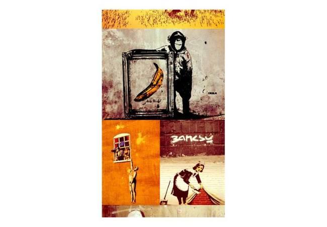 Fototapeta - Kolaż - Banksy