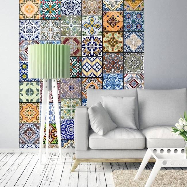 Fototapeta - Kolorowa mozaika