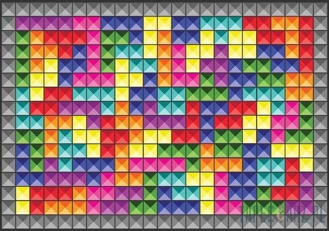 Fototapeta Kolorowe klocki 3741