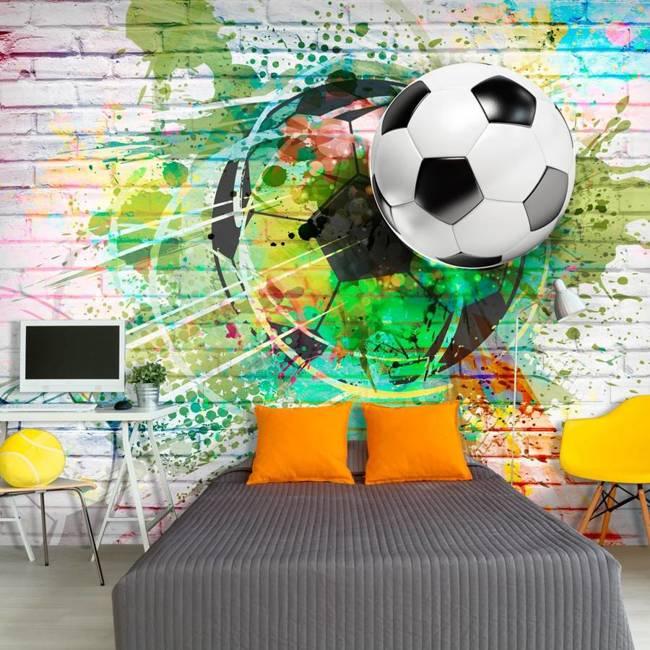 Fototapeta - Kolorowy sport