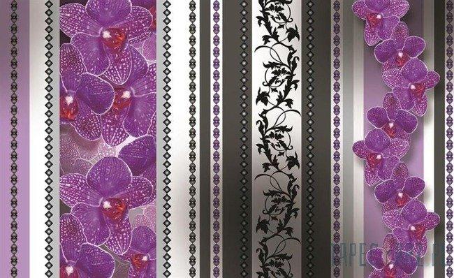 Fototapeta Kwiatowe ornamenty 1277