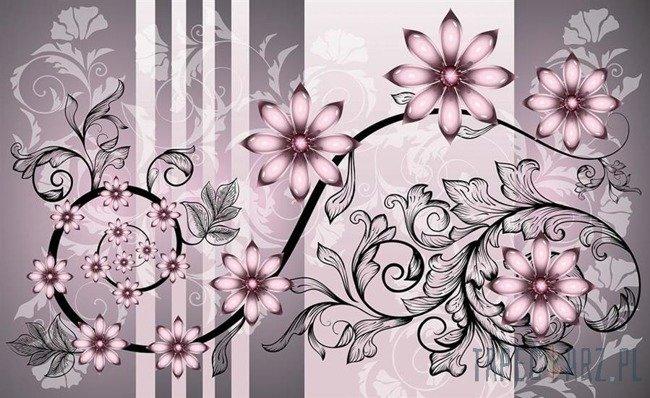 Fototapeta Kwiatowy ornament 1200