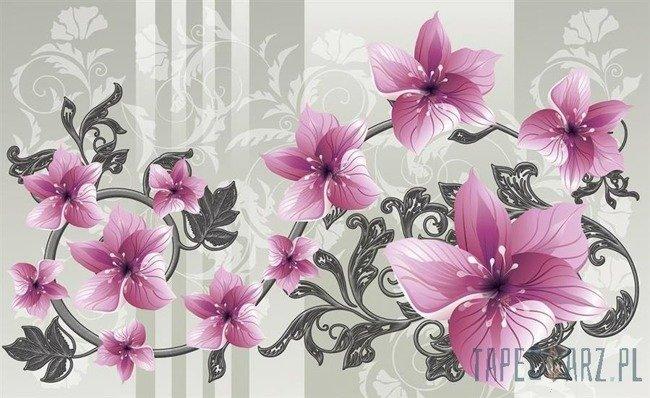 Fototapeta Kwiatowy ornament 1204