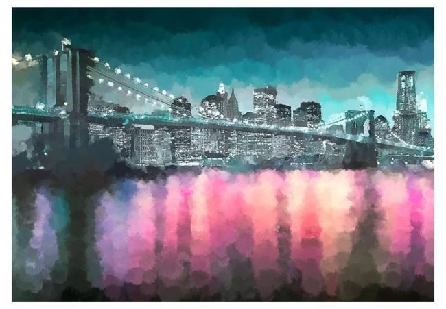 Fototapeta - Malowany Nowy Jork