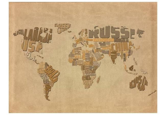 Fototapeta - Mapa odkrywców