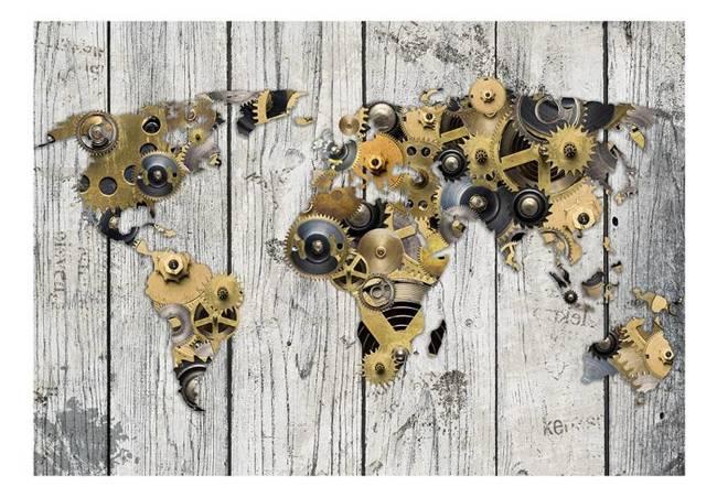 Fototapeta - Mechaniczny świat