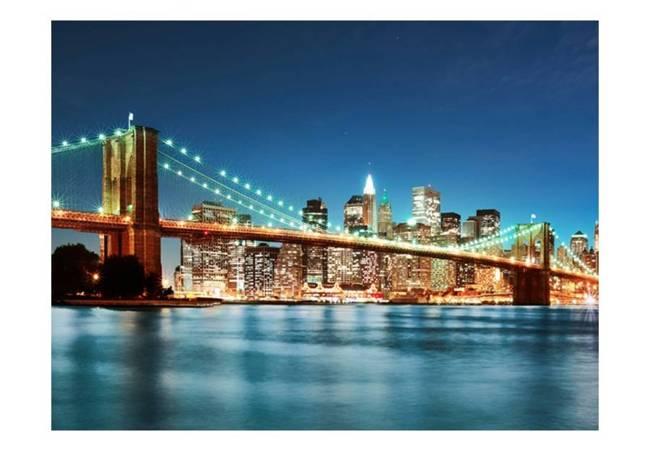 Fototapeta - Migoczący Most Brookliński