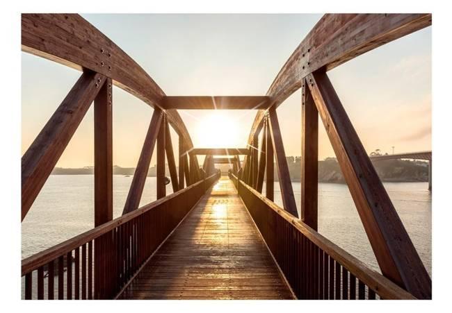 Fototapeta - Most słońca