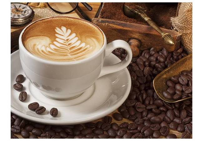 Fototapeta - Może kawy?