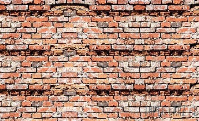 Fototapeta Mur z czerwonej cegły 2931