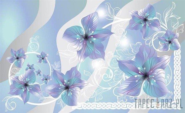 Fototapeta Niebieskie kwiaty 1234