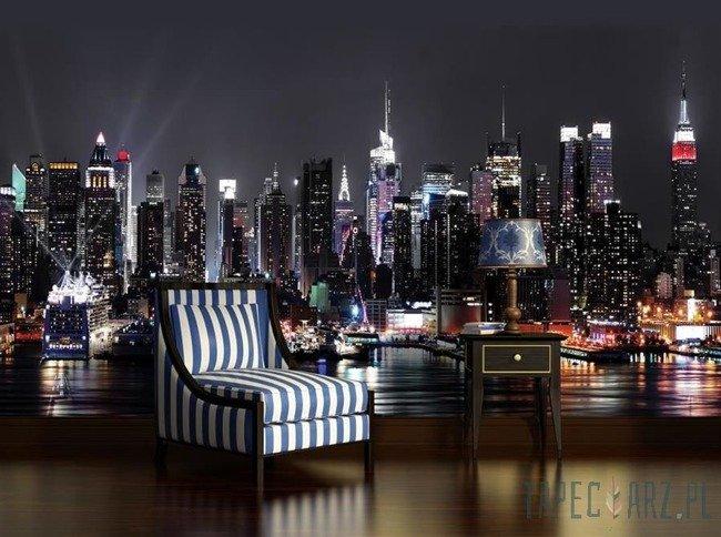Fototapeta Nowy Jork nocą 1309