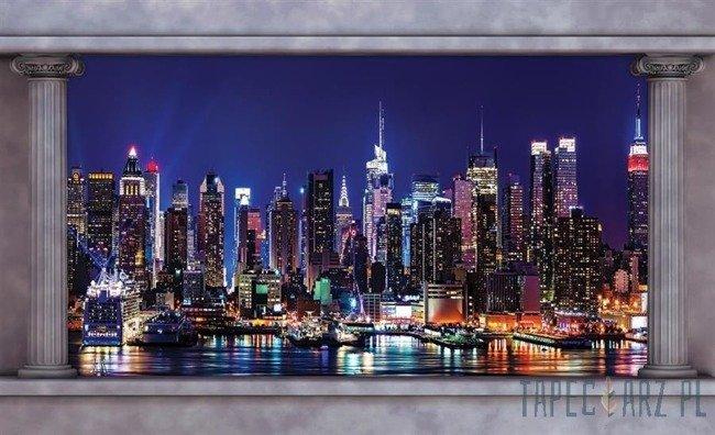Fototapeta Nowy Jork nocą 2866