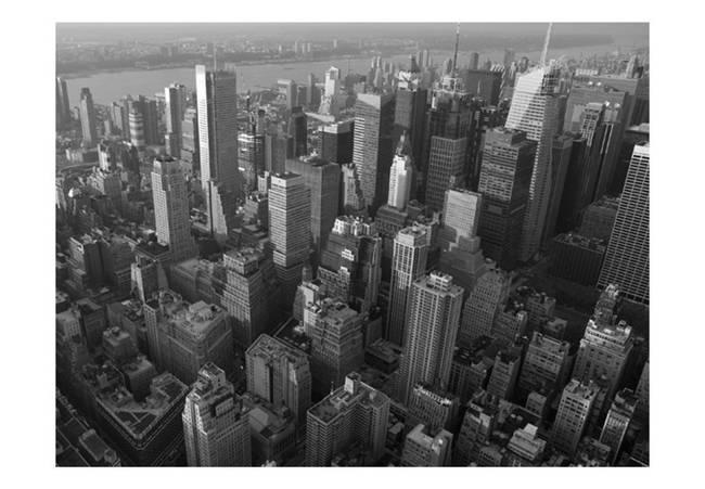 Fototapeta - Nowy Jork: wieżowce (widok z lotu ptaka)
