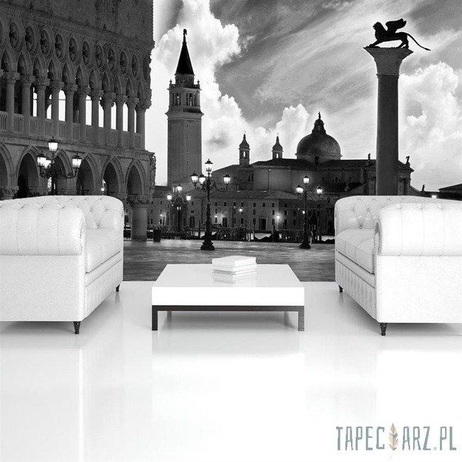 Fototapeta Plac św. Marka - Wenecja (czarno-biały) 337