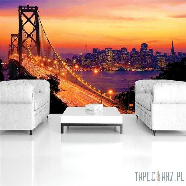 Fototapeta Pomarańczowy Golden Gate Bridge 418