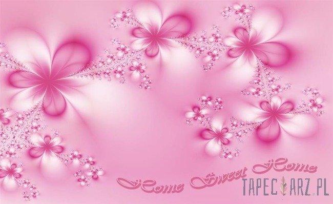 Fototapeta Różowe kwiatki 779