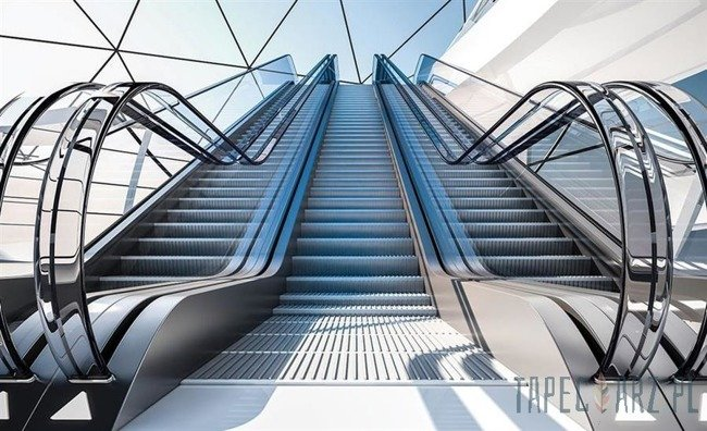 Fototapeta Ruchome schody 1340
