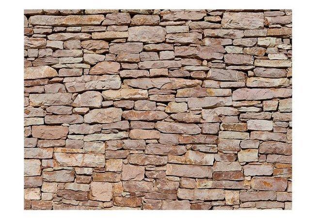Fototapeta - Ściana z kamienia