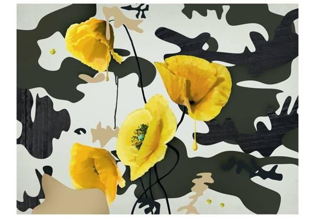 Fototapeta - Świeżo malowane