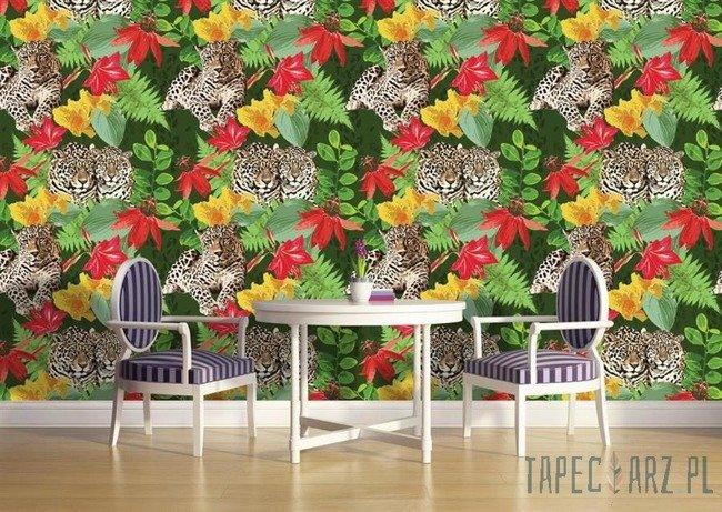 Fototapeta Tygrysy w dżungli 1116