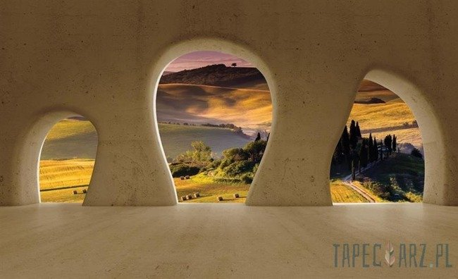 Fototapeta Widok na Toskanię 2828