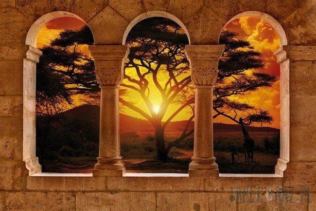 Fototapeta Widok na zachód słońca 770