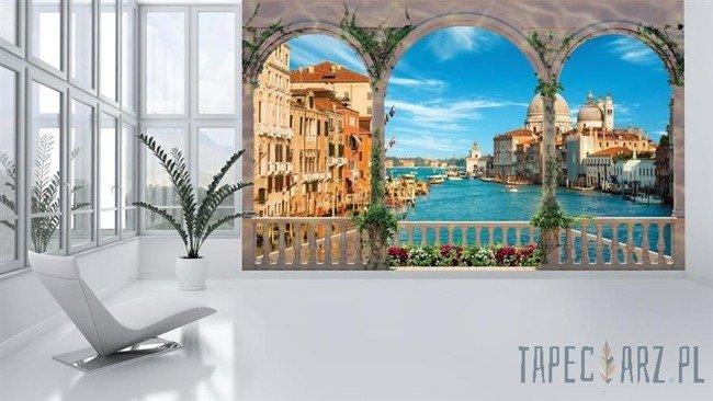 Fototapeta Widok z tarasu na Wenecję 1072