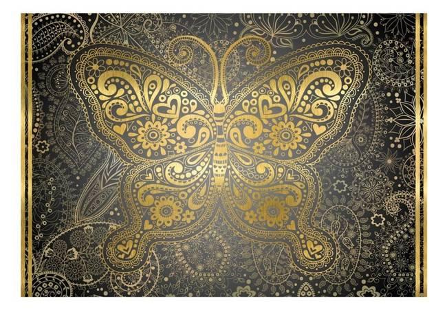 Fototapeta - Złoty motyl
