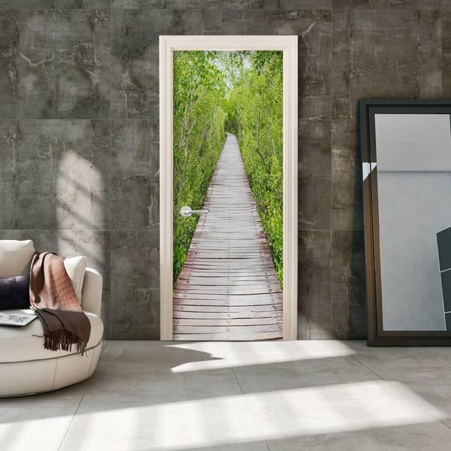 Fototapeta na drzwi - Ścieżka natury