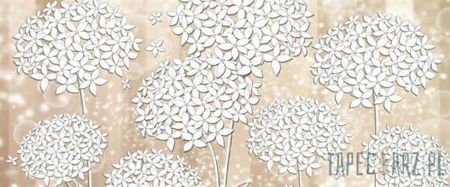 Fototapeta na flizelinie Białe kwiaty 3500VEP