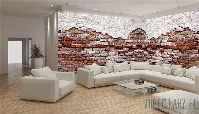 Fototapeta na flizelinie Imitacja ceglanej ściany 10182VEE
