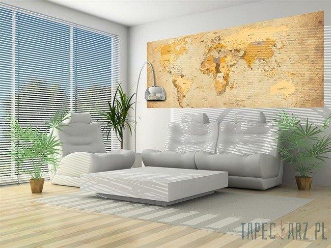 Fototapeta na flizelinie Mapa świata 3543VEP